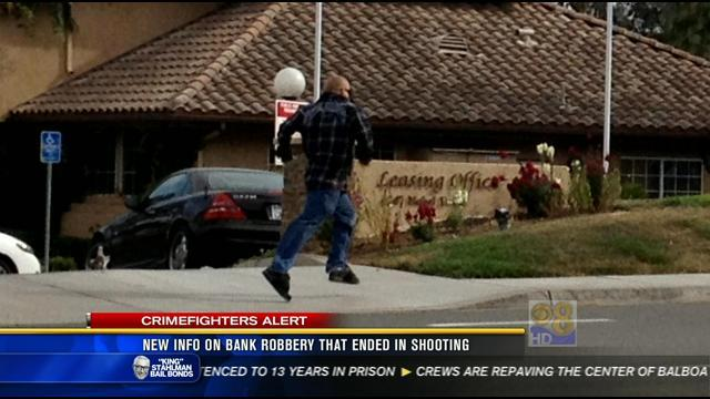 New info on bank robbery that ended in shooting