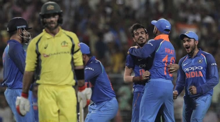 Two in two for Chahal