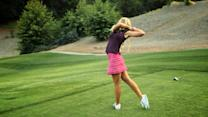 The Sexiest Shots in Golf - Blair O'Neal Shows You How to Hit Your Golf Ball Inside Your Opponent's