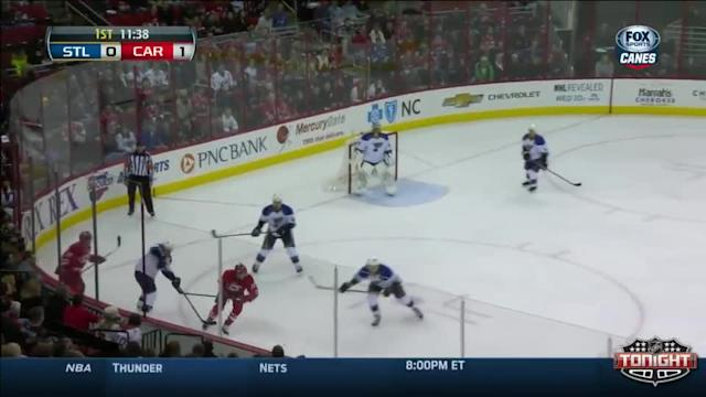 St. Louis Blues at Carolina Hurricanes - 01/31/2014