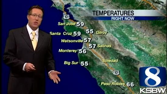 Get Your Monday KSBW Weather Forecast 7.22.13