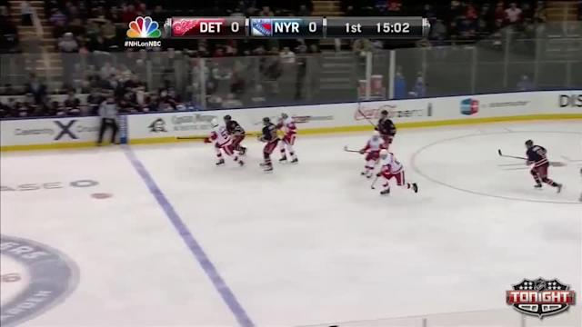Detroit Red Wings at NY Rangers Rangers - 03/09/2014