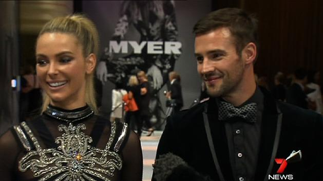 Leather and lace for Myer