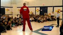 Special guest helps kids fight bullying
