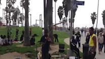 Incredible Violinist at Venice Beach