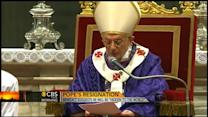 """Pope Benedict will be """"hidden to the world"""""""