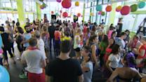 New fitness craze: Wake-up raves give pre-work boost