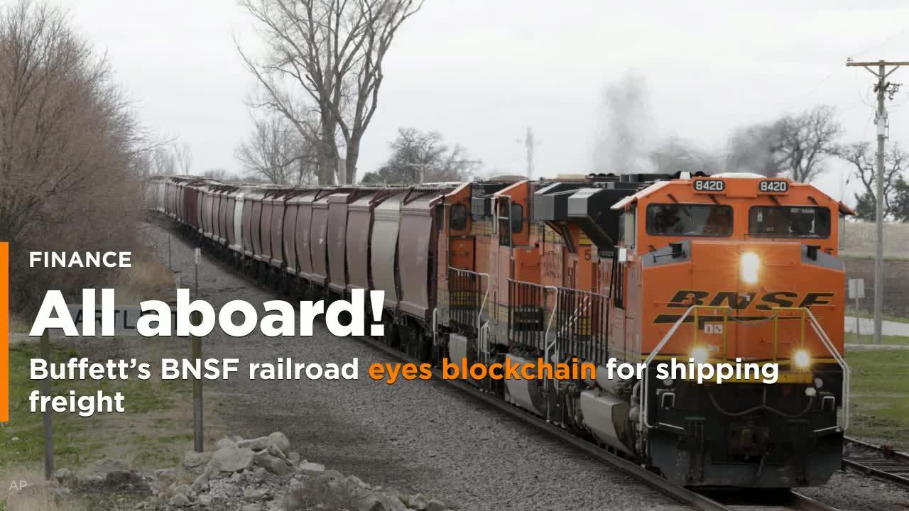 Buffetts Bnsf Railroad Eyes Blockchain For Shipping Freight