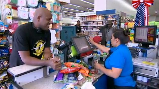 Man Shops at 99-Cent Store, Sheds 250 Pounds