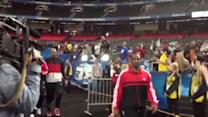 UofL arrives at Georgia Dome