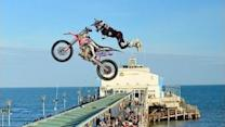 Dan Whitby Jumps Bournemouth Pier