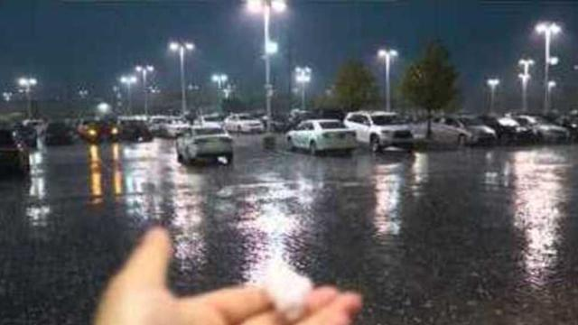 Hailstorms Reported in Chicago Area