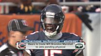 Chicago Bears wide receiver Brandon Marshall to be traded to the New York Jets