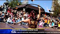 Busker Festival entertains on Seaport Village