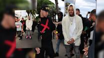 Chris Brown Causes A Commotion In Cannes