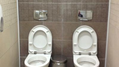 'Twin Toilet' Shocking Visitors to Olympic Venue