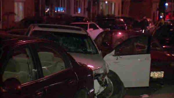 Wild crash in Brooklyn leaves several pedestrians injured