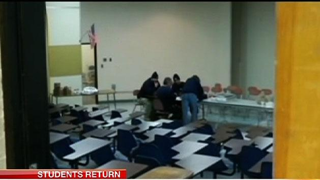 Newtown students return to classes