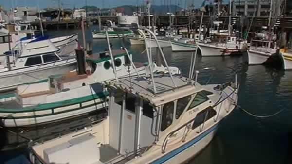 Windy weather keeps boats docked in San Francisco