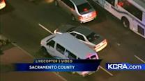 LiveCopter 3 follows chase through rush-hour traffic