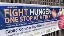 Capitol Corridor Collects Cans For Kids