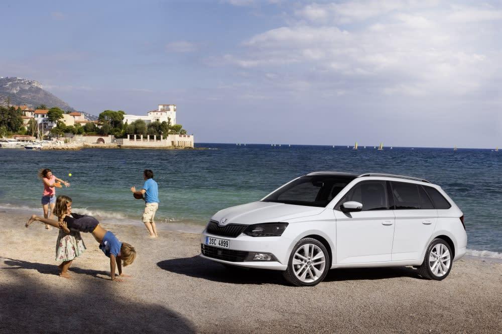 小引擎 高效率 2018年式Škoda Fabia換心登場