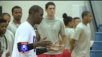 NBA Star Chris Paul Hosts Kids Camp