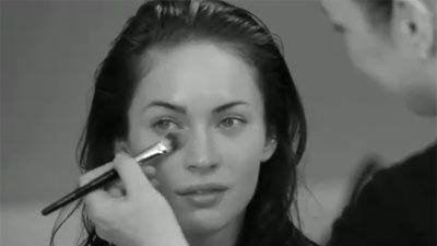 Megan Fox for Armani Behind The Scenes