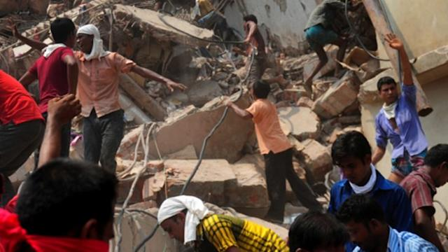 Horrific Building Collapse Kills 300 People in Bangladesh
