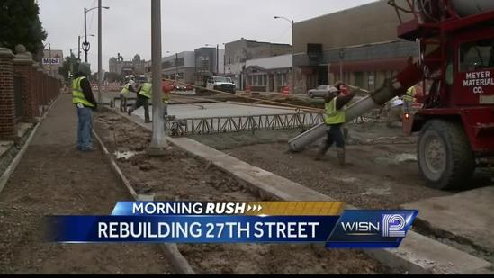 North 27th Street road project will keep road closed until December