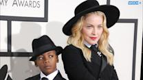Madonna's Son Rocco Takes Brother And Sister Back To School