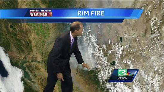 Mark Finan provides air quality update from fires