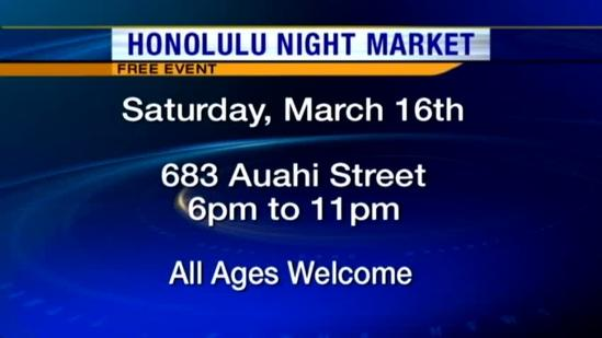 Kakaako comes alive with the Honolulu Night Market