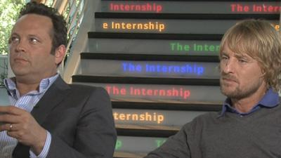 Vince Vaughn And Owen Wilson Score With The Internship