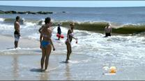 Long Beach Lifeguards On High Alert Due To Rip Currents