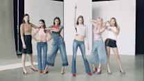 On Set with Vogue - 6 Models Make Moves in Spring's Most Personal Denim