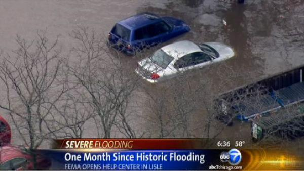 Illinois counties to get federal aid after flooding | FEMA help center opens in Lisle after floods
