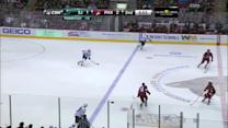 Wingels finds Marleau in front to score