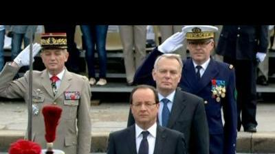 Hollande celebrates Bastille day