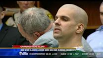 Man who slashed lawyer gives his own closing arguments