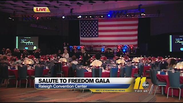 The 9th Annual Salute to Freedom Gala