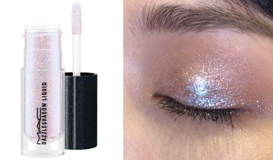 「夢幻星空在眼睛上閃耀!」絕美絲滑金屬光澤,彩妝控必入手M‧A‧C星光液態眼影