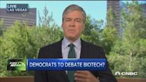 Will Dems crush biotech tonight?