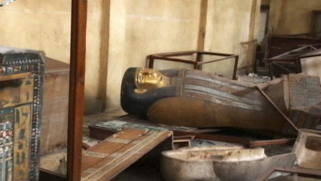 Egypt in Crisis: Precious Antiquities Destroyed Amid Protests
