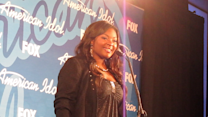 Candice Glover at the Season 12 'American Idol' Finale
