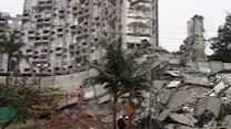 11 still missing after 22-story apartment building collapses in Colombia