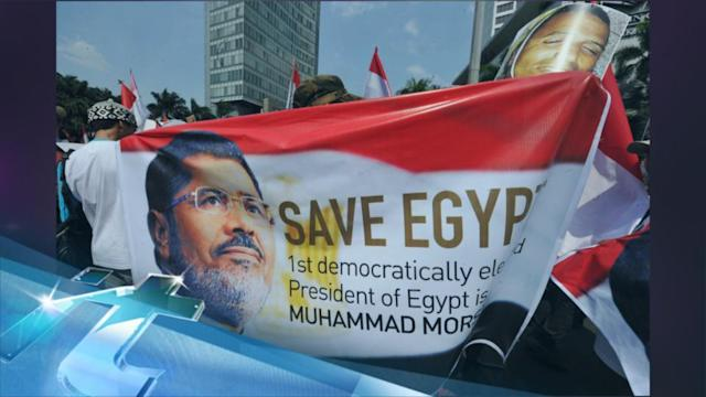 Egypt Security Deploys As Morsi Supporters Rally