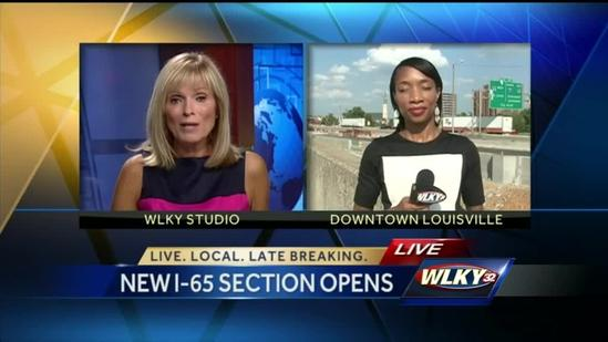 New section of Interstate 65 of downtown bridge project to open
