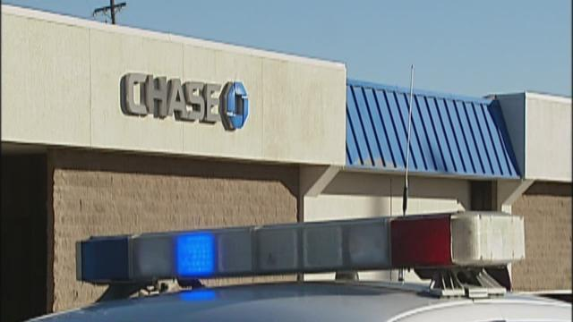 Second Chase Bank robbed this week