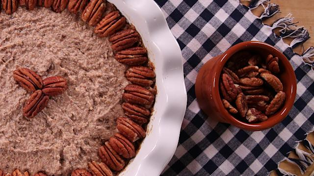 Pecan Pie Minus the Guilt -and the Oven, Too!